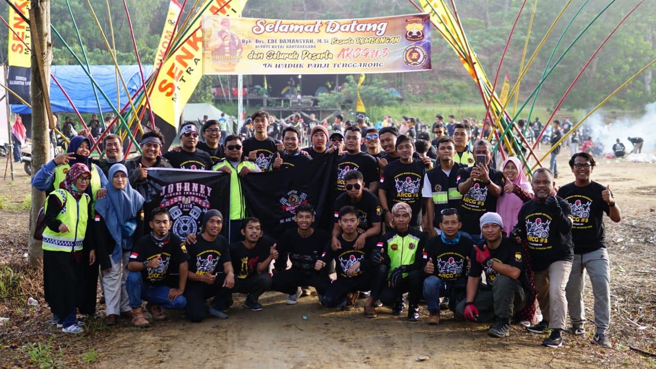 JRI Chapter Kutim Berangkatkan 35 Riders ke ARCG 3