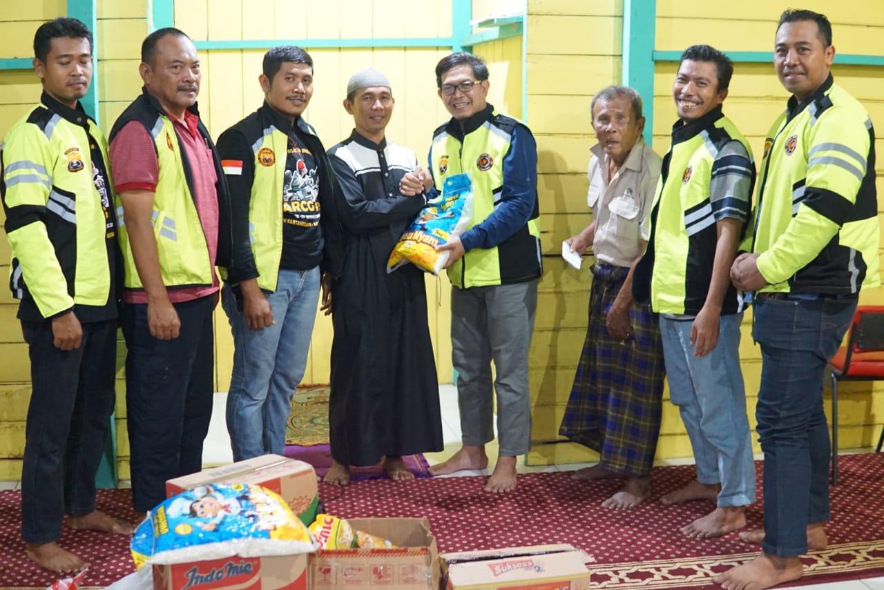 Komunitas Motor Tour Berbagi, JRI Kutim Tebar Manfaat ke Warga Bukit Khayangan